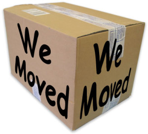 We Moved Box